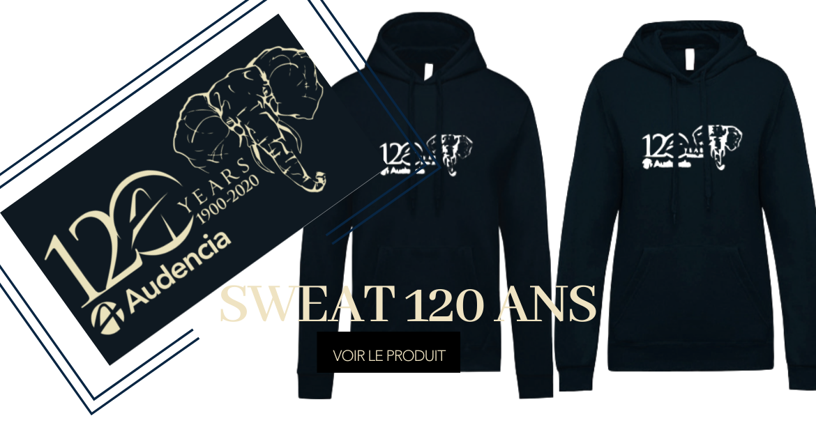 SWEAT  DE PROMO 120 ans